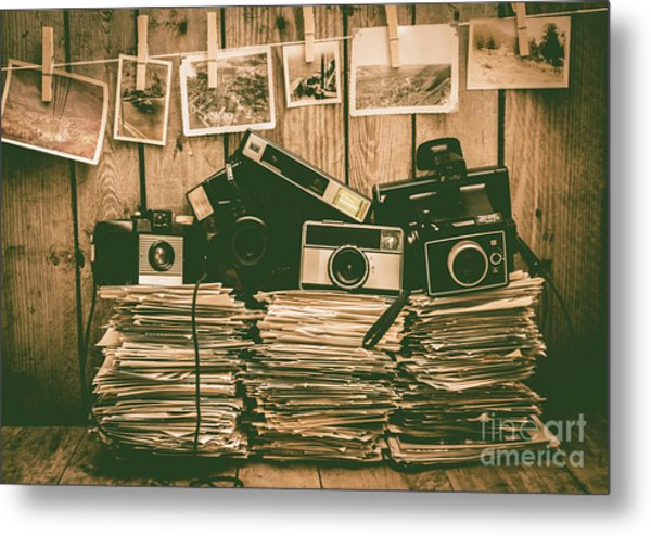 The Art Of Film Photography Metal Print