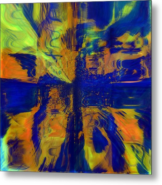 The Art Of Understanding Perspective Metal Print by Fania Simon