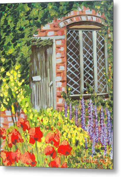 The Artist's Cottage Metal Print