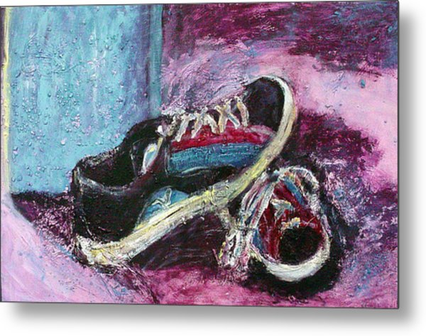 The Artists Shoes Metal Print