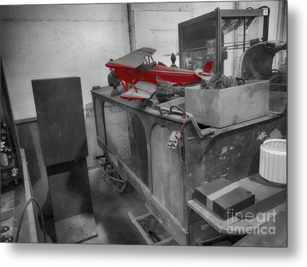 The Auction House  Metal Print by Steven Digman