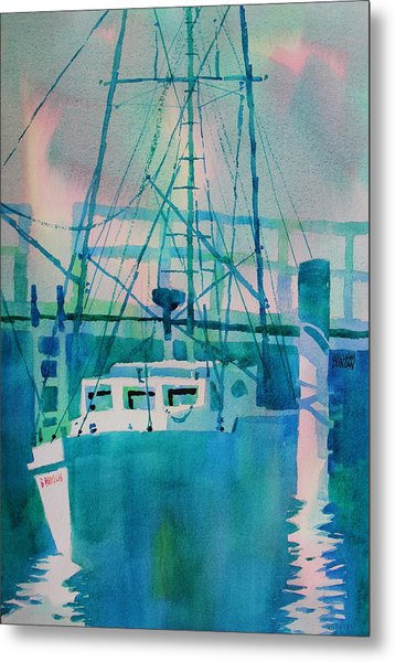 The B Phyllis At Fishermans Wharf Metal Print