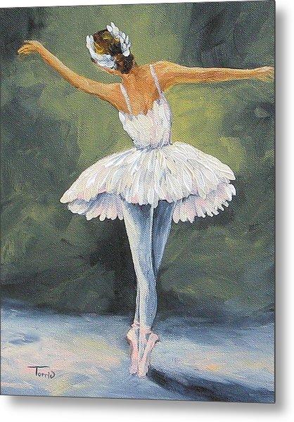 The Ballerina II   Metal Print by Torrie Smiley
