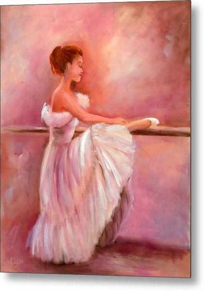 The Ballerina Metal Print by Sally Seago