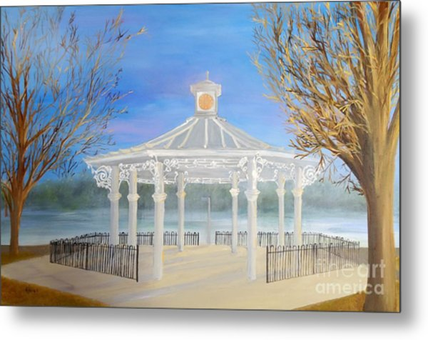 The Bandstand Basingstoke War Memorial Park Metal Print