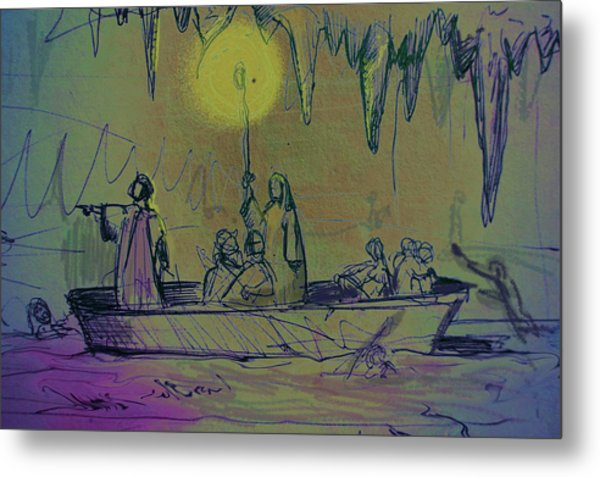 The Barque Of Dante Metal Print