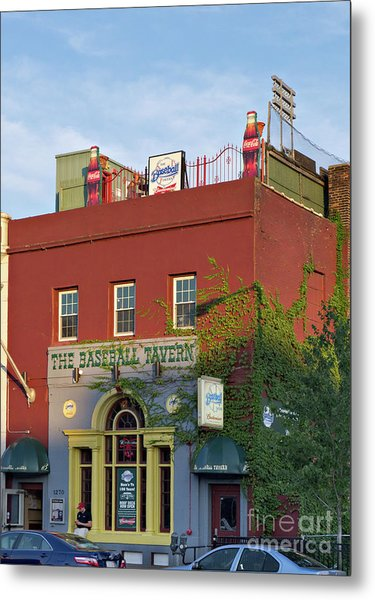 The Baseball Tavern Boston Massachusetts  -30948 Metal Print