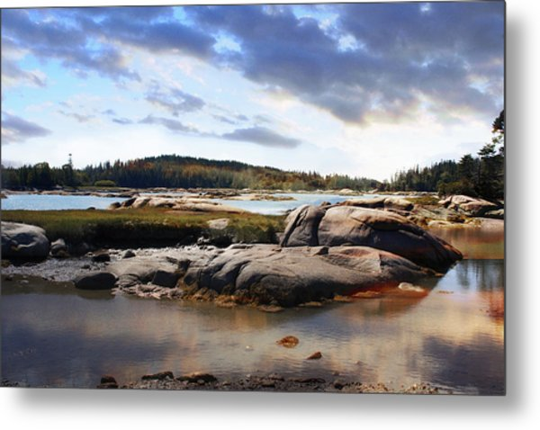 The Basin, Vinalhaven, Maine Metal Print