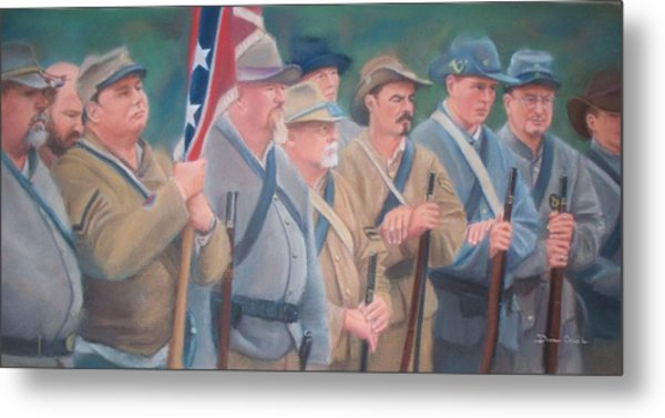 The Battle Of Wilson's Store Metal Print by Diane Caudle