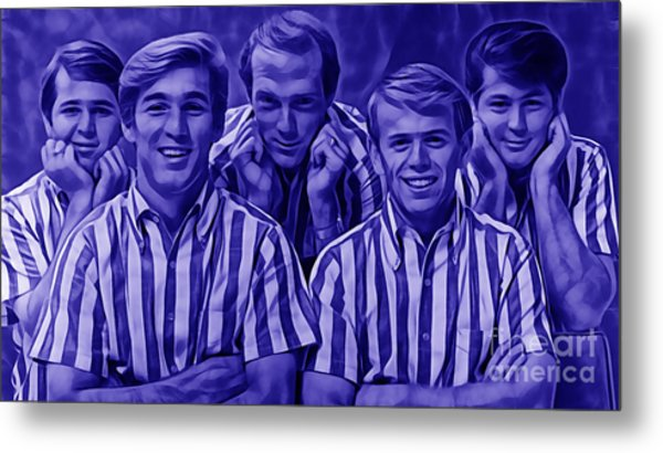 The Beach Boys Collection Metal Print