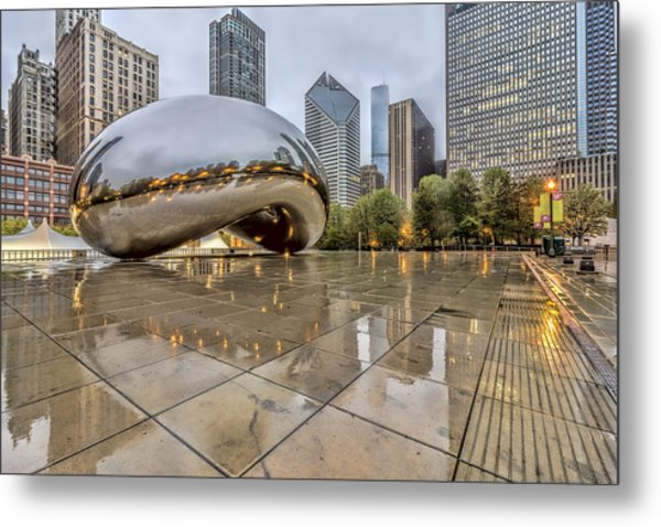 The Bean Hdr 01 Metal Print