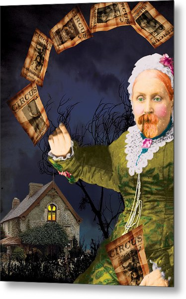 The Bearded Lady's Dream Metal Print by Max Scratchmann