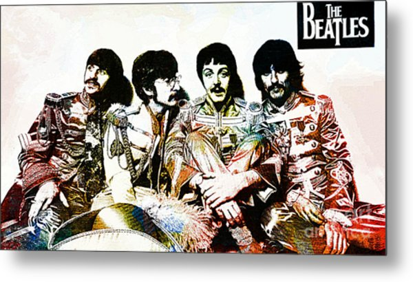 The Beatles--sargent Peppers Lonely Hearts Club Band Metal Print