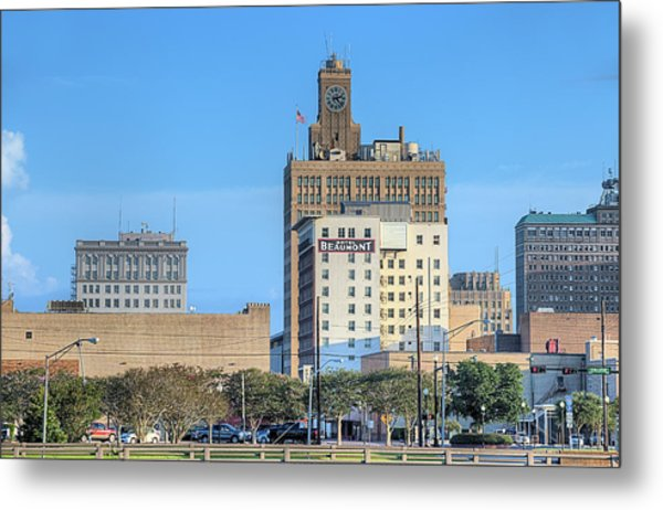 The Beaumont Skyline Metal Print by JC Findley