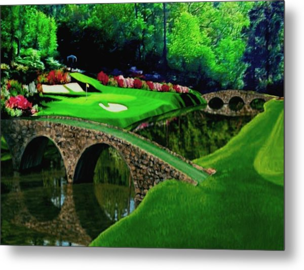 The Beauty Of The Masters Cropped Version Metal Print