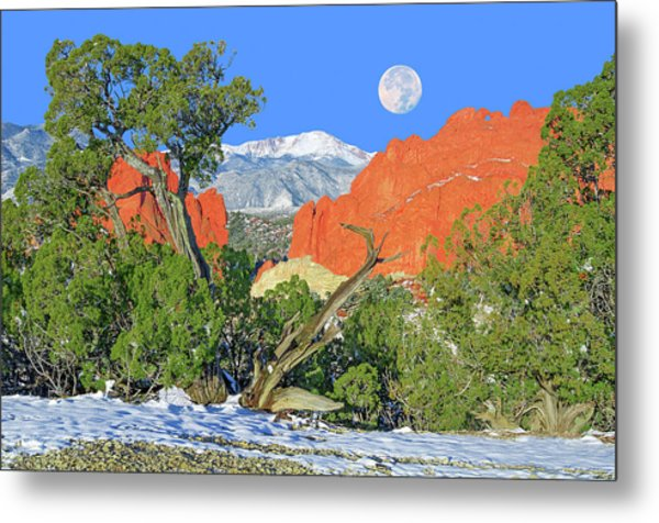 The Beauty That Takes Your Breath Away And Leaves You Speechless. That's Colorado.  Metal Print
