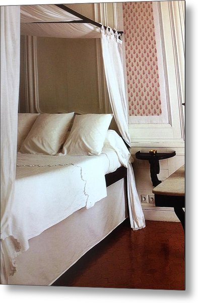 The Bed Metal Print