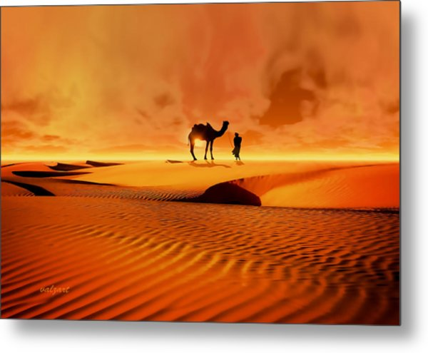 The Bedouin Metal Print