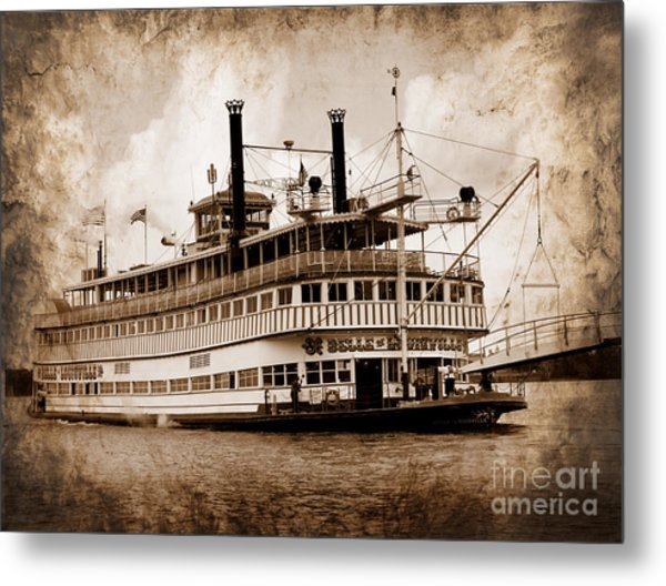 The Belle Of Louisville Kentucky Metal Print