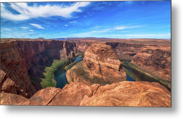 The Bend Metal Print