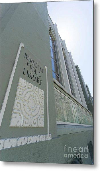 The Berkeley Public Library Central Branch At University Of California Berkeley Dsc6320 Metal Print