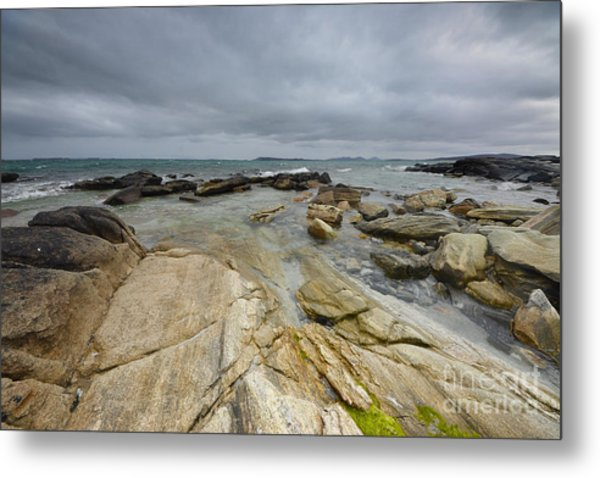 The Berneray Coast Metal Print