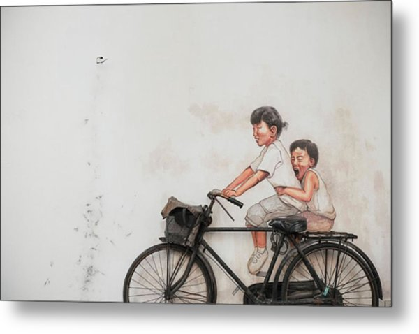 The Bicycle Metal Print