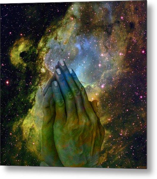 The Big Bang  Two Metal Print by Evelyn Patrick