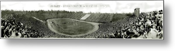 Stanford And U Of C 1925 Metal Print