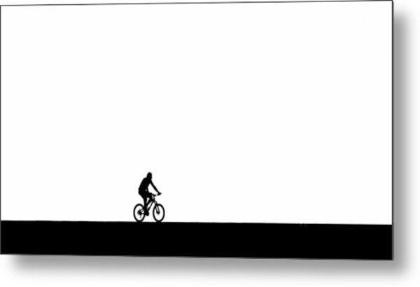 The Bike Ride  Metal Print