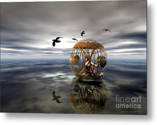The Birdcage Metal Print