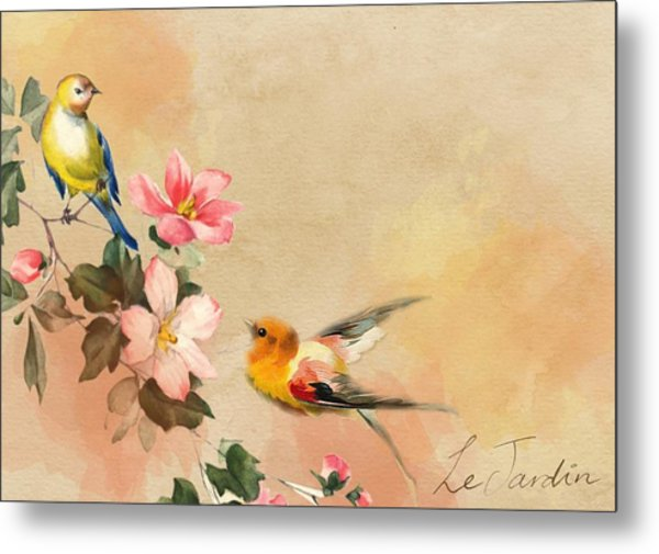 The Birds Metal Print