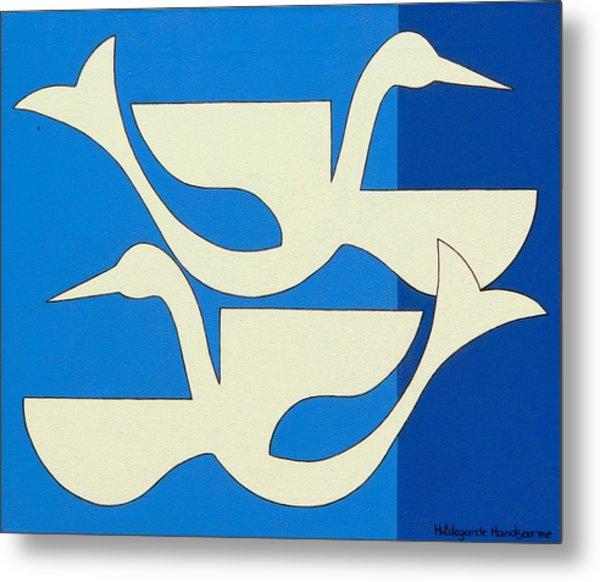 The Birds Metal Print by Hildegarde Handsaeme