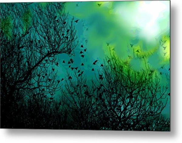 The Birds Of The Air  Metal Print