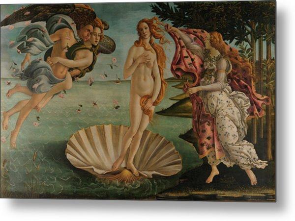 The Birth Of Venus, Original Metal Print