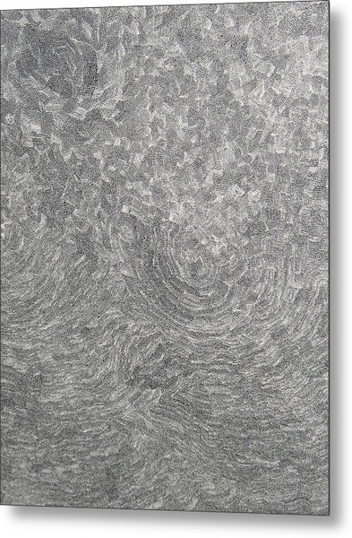 The Birth On The Time At The Ocean Of The Lost Sense Metal Print by Uwe Schein