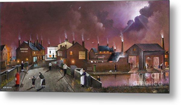 The Black Country Museum Metal Print