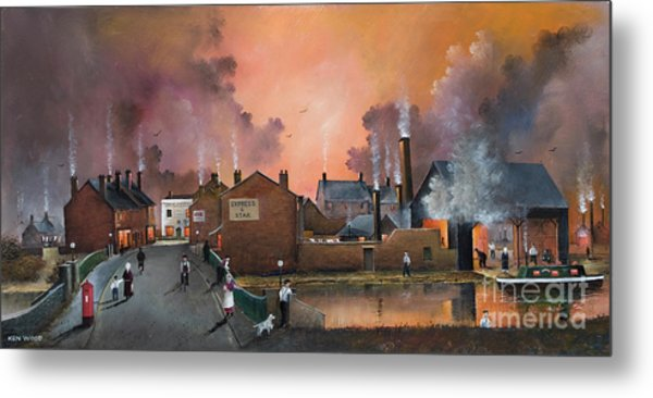 The Black Country Village Metal Print