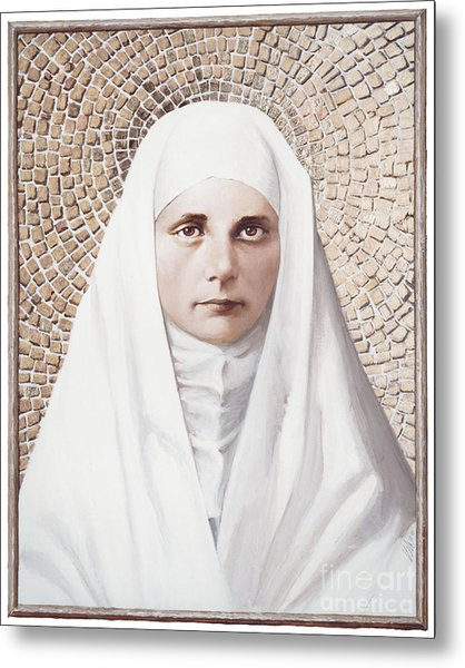 The Blessed Virgin Mary - Lgbvm Metal Print