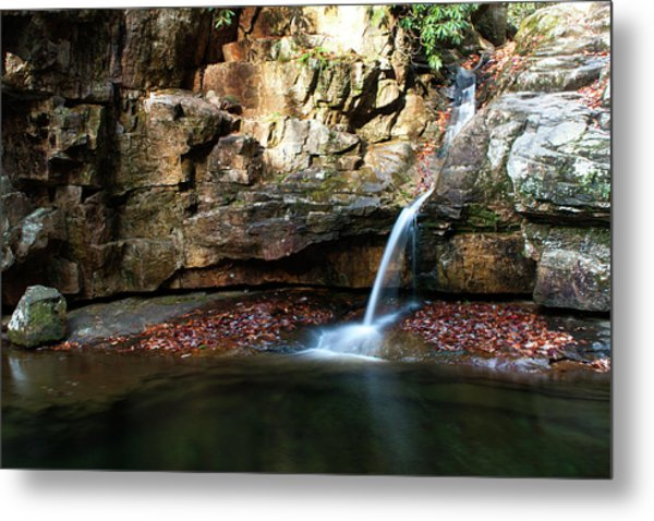 The Blue Hole In November #2 Metal Print