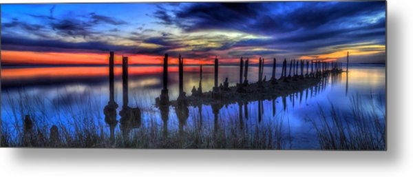 The Blue Hour Comes To St. Marks #2 Metal Print