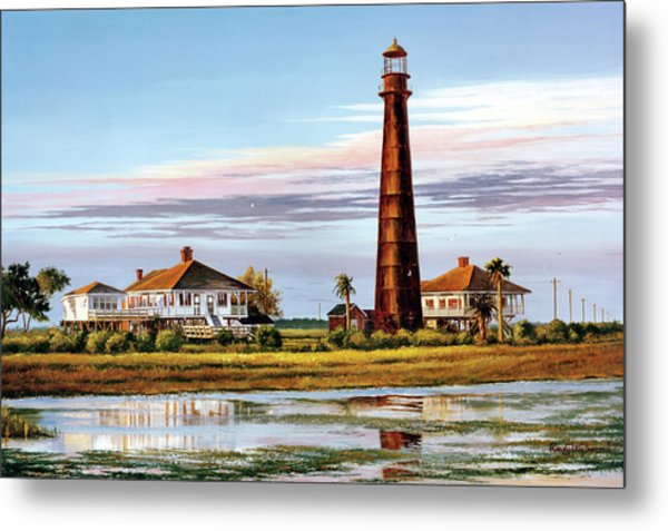 The Bolivar Lighthouse Metal Print