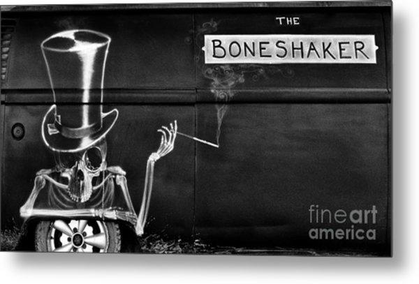 The Bone Shaker Metal Print
