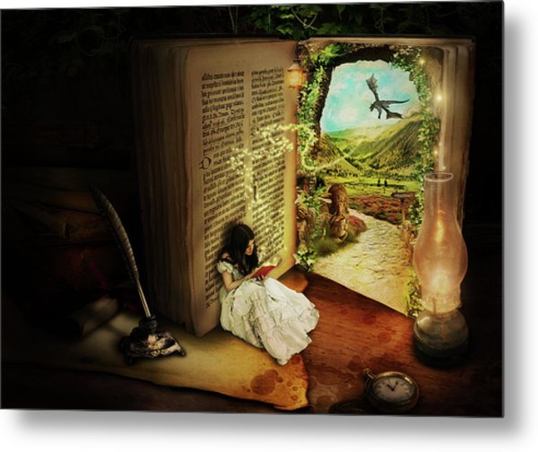 The Book Of Secrets Metal Print