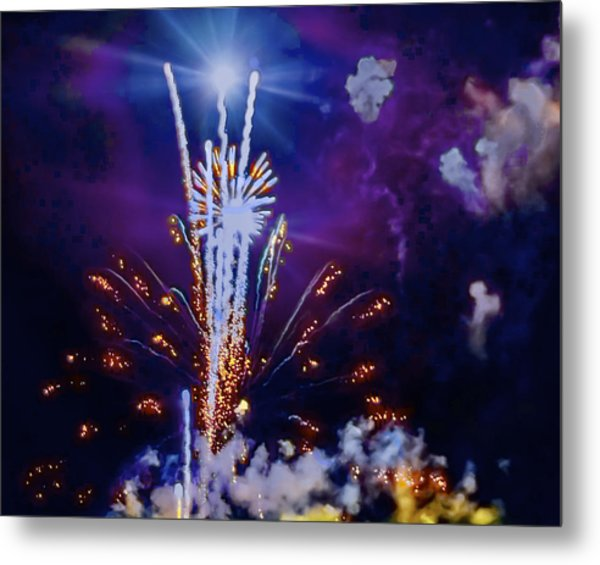The Boom Metal Print by Larry Bodinson