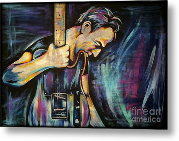 The Boss Bruce Springsteen Metal Print