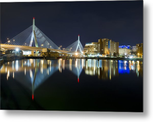The Boston Bridge Metal Print