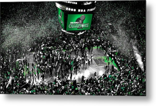 The Boston Celtics 2008 Nba Finals Metal Print