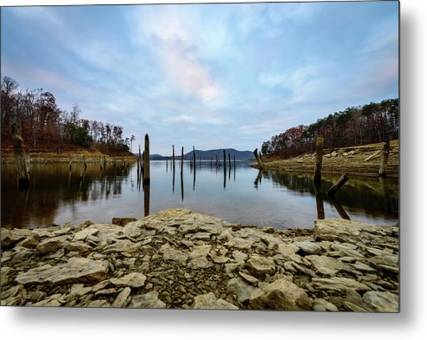 The Bottom Of The Lake Metal Print