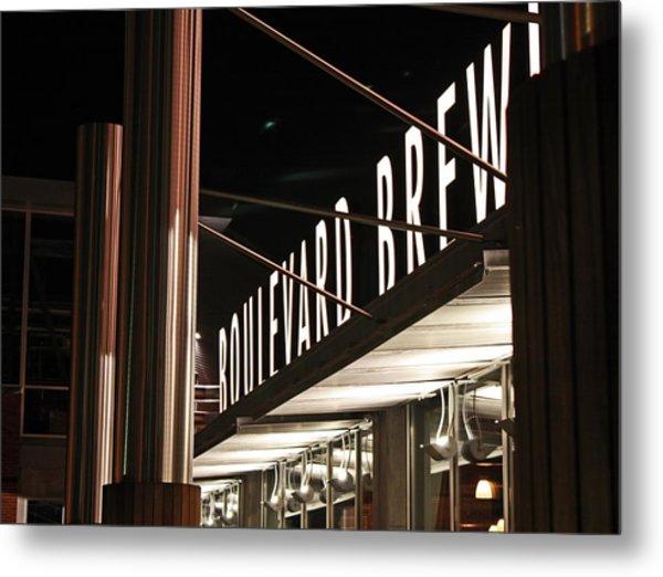 The Boulevard Deck Metal Print